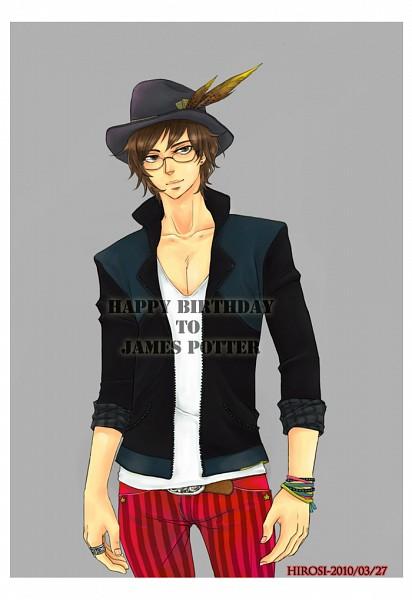 Tags: Anime, Pixiv Id 1331711, Harry Potter, James Potter, Striped Pants