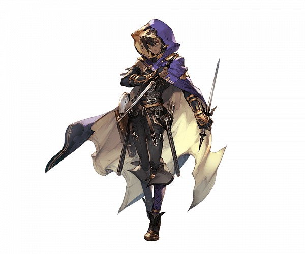 Tags: Anime, Minaba Hideo, Cygames, Granblue Fantasy, Jamil (Granblue Fantasy), Cover Image, PNG Conversion, Official Art