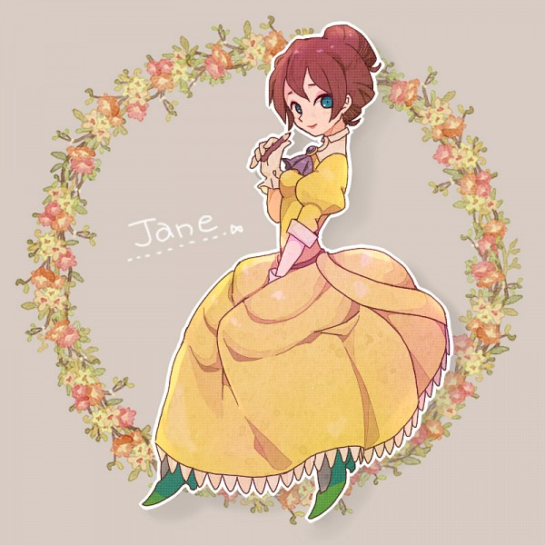 Tags: Anime, Pixiv Id 2053211, Tarzan, Jane Porter, Wreath, Green Footwear, Disney