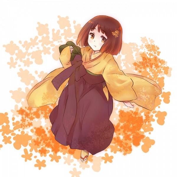 Tags: Anime, Kinuta, Axis Powers: Hetalia, Japan (Female), Nyotalia, Pixiv