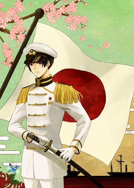 Tags: Anime, Pixiv Id 132129, Axis Powers: Hetalia, Japan, Mobile Wallpaper, Fanart, Fanart From Pixiv, Pixiv