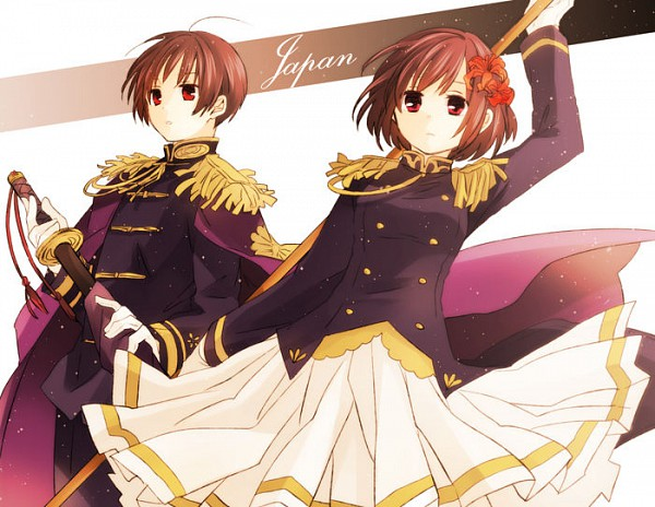 Tags: Anime, Love-moon, Axis Powers: Hetalia, Japan, Japan (Female), Nyotalia, Player 2, Axis Power Countries, Asian Countries