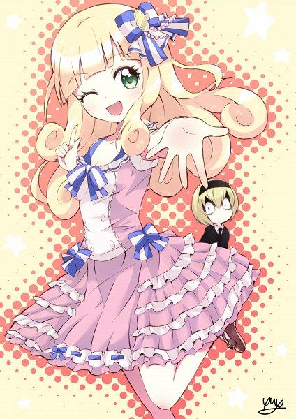 Tags: Anime, Pixiv Id 9822049, Jashin-chan Dropkick, Poporon (Jashin-chan Dropkick), Pecora (Jashin-chan Dropkick)