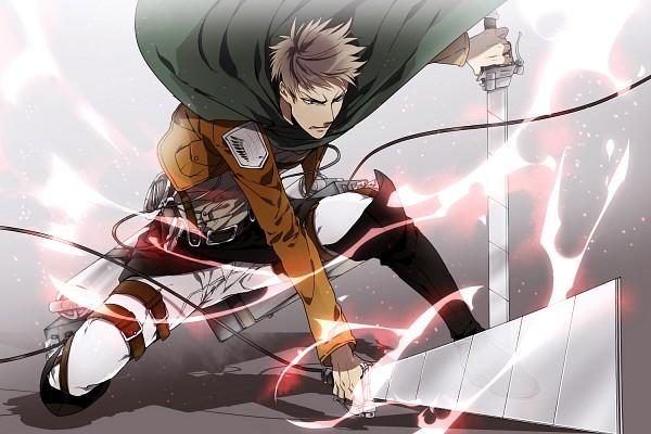 Tags: Anime, Fujiwara Kai, Attack on Titan, Jean Kirschstein, Pixiv, Fanart