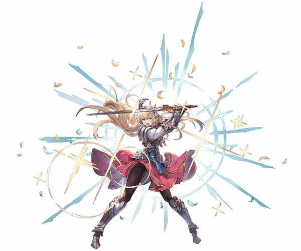 Tags: Anime, Minaba Hideo, Cygames, Granblue Fantasy, Jeanne d'Arc (Granblue Fantasy), Cover Image, Official Art