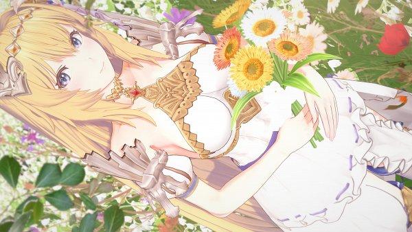 Tags: Anime, Pixiv Id 17619558, Granblue Fantasy, Jeanne d'Arc (Granblue Fantasy), Wallpaper, Fanart, Fanart From Pixiv, Pixiv, 3D