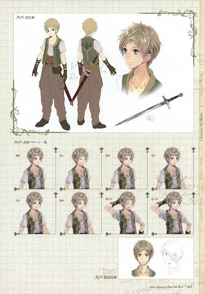 Tags: Anime, Kishida Mel, Atelier Rorona and Totori Art Book, Alchemist of Arland, Jeeno Knab, Mobile Wallpaper, Pixiv