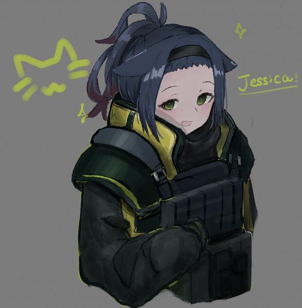 Tags: Anime, Pixiv Id 31747700, Arknights, Jessica (Arknights), Iron Block