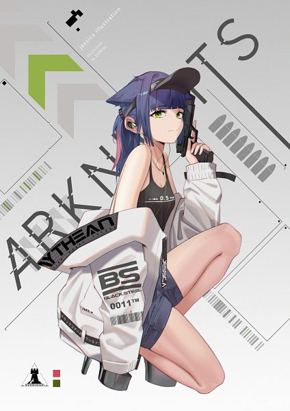 Tags: Anime, Pixiv Id 9400351, Arknights, Jessica (Arknights), Pixiv, Fanart, Fanart From Pixiv