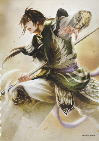 Jiang Wei - Dynasty Warriors