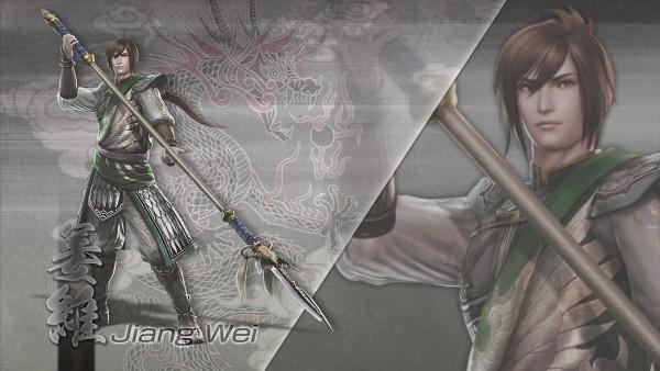 Tags: Anime, Dynasty Warriors, Jiang Wei, Wallpaper, HD Wallpaper