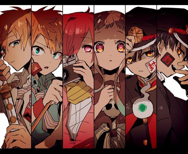 Tags: Anime, Misoan, Jibaku Shounen Hanako-kun, Minamoto Teru, Minamoto Kou, Hanako-kun, Yugi Tsukasa, Yashiro Nene, Mitsuba Sousuke, Toilet-bound Hanako-kun
