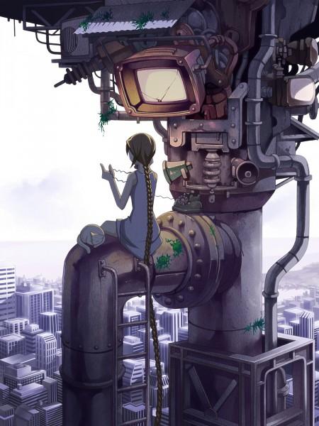 Tags: Anime, Torigoe Takumi, Rapunzel, VOCALOID, Rapunzel (Character), Industrial, Pixiv, Jibuninchimonita