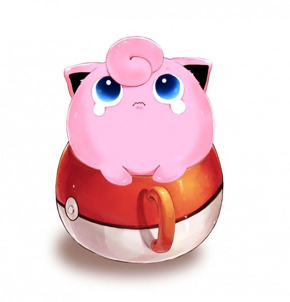 Tags: Anime, Pixiv Id 2547442, Pokémon, Jigglypuff, Pokéball Mug, Fanart, Pixiv