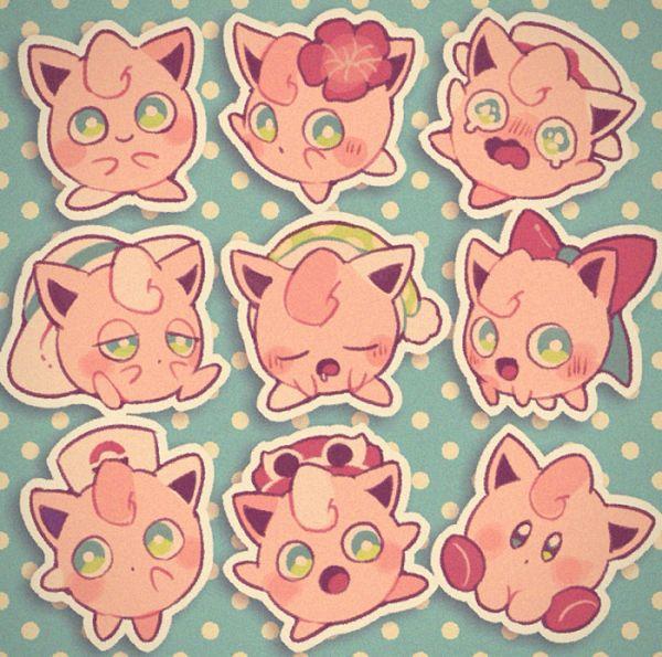 Tags: Anime, Pixiv Id 11445645, Kirby Series, Pokémon, Kirby, Jigglypuff, Night Cap, Fanart From Pixiv, Pixiv, Fanart