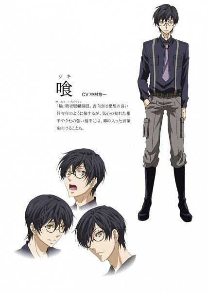 Tags: Anime, Kawamura Toshie, manglobe, Karneval, Jiki, Mobile Wallpaper, Official Art, Official Character Information