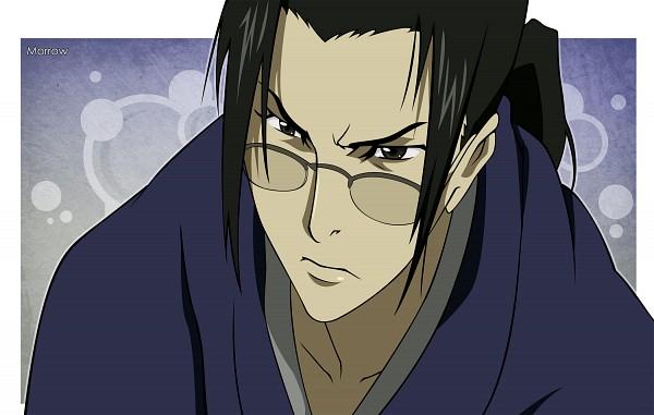 Tags: Anime, Morrow, Samurai Champloo, Jin (Samurai Champloo), Pixiv, Vector, Fanart