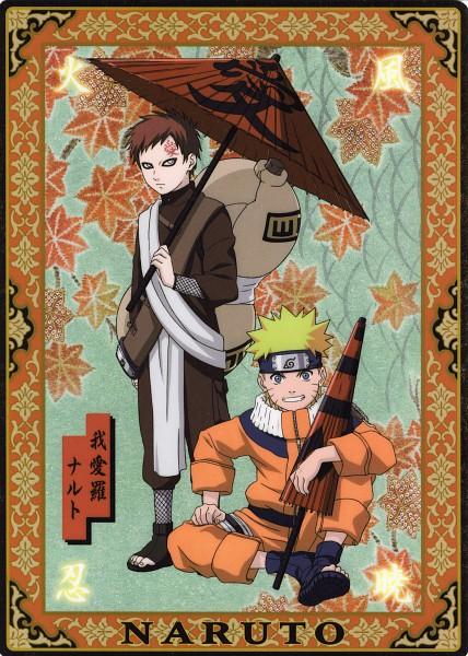 Tags: Anime, NARUTO, Uzumaki Naruto, Gaara, Gourd, Mobile Wallpaper, Official Art, Jinchuuriki
