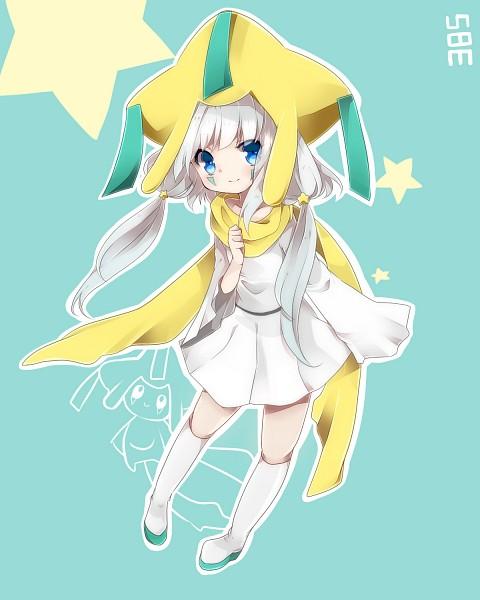Tags: Anime, Takeshima (nia), Pokémon, Jirachi, Fanart