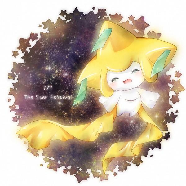 Tags: Anime, Pixiv Id 1773718, Pokémon, Jirachi, Pixiv, Fanart From Pixiv, PNG Conversion, Fanart, Legendary Pokémon