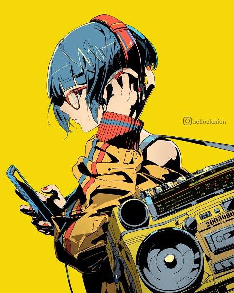 Tags: Anime, Helloclonion, Boku no Hero Academia, Jirou Kyouka, Tumblr, Fanart, Fanart From Tumblr, Koyoka Jiro