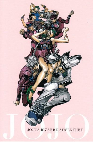 Tags: Anime, Araki Hirohiko, Phantom Blood, Stardust Crusaders, Steel Ball Run, JoJo no Kimyou na Bouken, Stone Ocean, Vento Aureo, JoJolion, Battle Tendency, Diamond Is Unbreakable, Joseph Joestar, Giorno Giovanna, Jojo's Bizarre Adventure