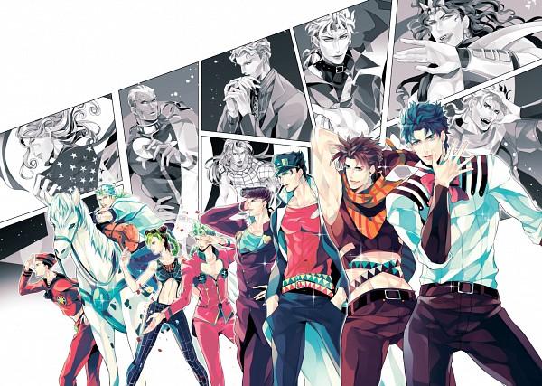 Tags: Anime, Huzakenna, Diamond Is Unbreakable, Phantom Blood, JoJo no Kimyou na Bouken, Stardust Crusaders, Steel Ball Run, Stone Ocean, JoJolion, Vento Aureo, Battle Tendency, Kars, Kuujou Joutarou, Jojo's Bizarre Adventure