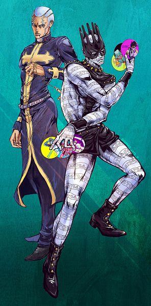 Tags: Anime, Pixiv Id 2815768, Vento Aureo, Diamond Is Unbreakable, JoJo no Kimyou na Bouken, Stardust Crusaders, JoJolion, Stone Ocean, Steel Ball Run, Tusk (Stand), Gold Experience, Stone Free, Whitesnake (Stand), Jojo's Bizarre Adventure