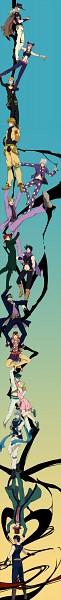 Tags: Anime, neopara, Phantom Blood, Stardust Crusaders, Steel Ball Run, Stone Ocean, Vento Aureo, Battle Tendency, JoJo no Kimyou na Bouken, Diamond Is Unbreakable, Caesar Anthonio Zeppeli, William Antonio Zeppeli, Kuujou Jolyne, Jojo's Bizarre Adventure