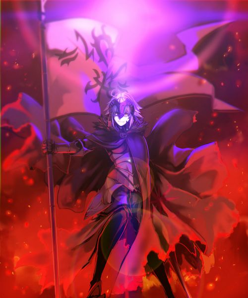 Tags: Anime, Hinomoto Madoka, Fate/Grand Order, Joan of Arc (Fate/Apocrypha), Joan Alter, La Grondement Du Haine