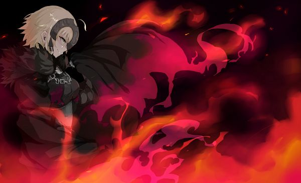 Tags: Anime, Pixiv Id 5834596, Fate/Grand Order, Joan Alter, Joan of Arc (Fate/Apocrypha), Wallpaper, PNG Conversion