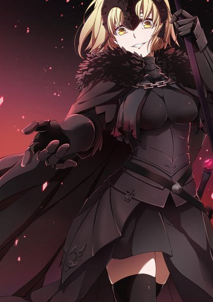 Tags: Anime, Pixiv Id 3379888, Fate/Grand Order, Joan of Arc (Fate/Apocrypha), Joan Alter, Mobile Wallpaper