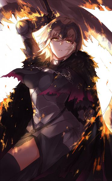 Tags: Anime, Pixiv Id 6035547, Fate/Grand Order, Joan Alter, Joan of Arc (Fate/Apocrypha), Mobile Wallpaper