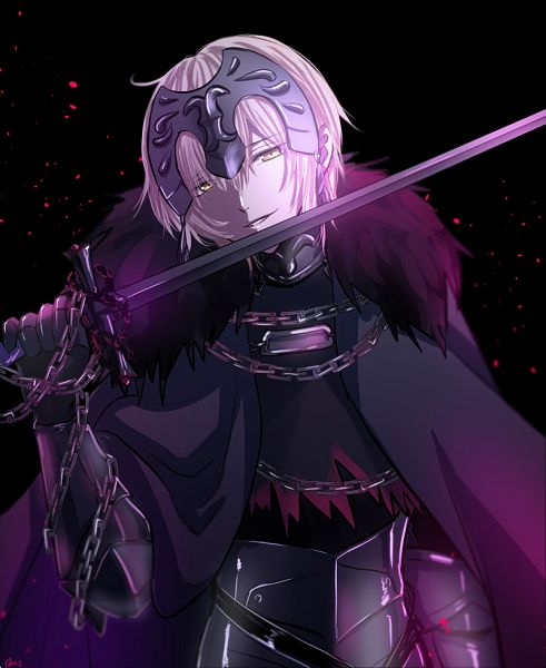 Tags: Anime, Pixiv Id 20681587, Fate/Grand Order, Joan Alter, Joan of Arc (Fate/Apocrypha), PNG Conversion, Twitter