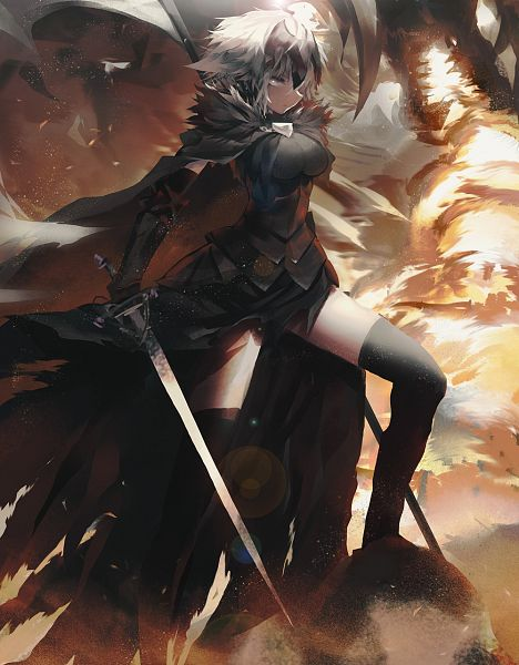 Tags: Anime, Sea (Lordofk), Fate/Grand Order, Joan Alter, Joan of Arc (Fate/Apocrypha), La Grondement Du Haine