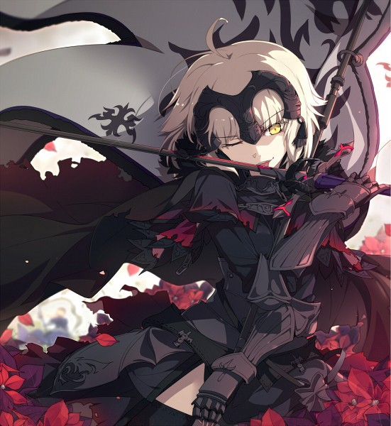 Tags: Anime, Ogipote, Fate/Grand Order, Joan of Arc (Fate/Apocrypha), Joan Alter, La Grondement Du Haine, Fanart, Fanart From Pixiv, Pixiv