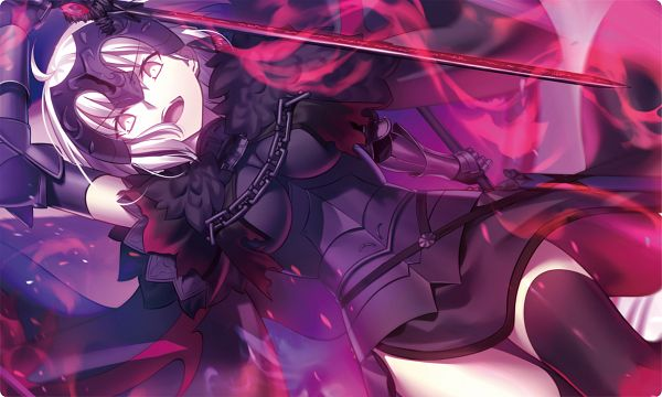 Tags: Anime, Shima Shinoji, Fate/Grand Order, Joan Alter, Joan of Arc (Fate/Apocrypha), PNG Conversion