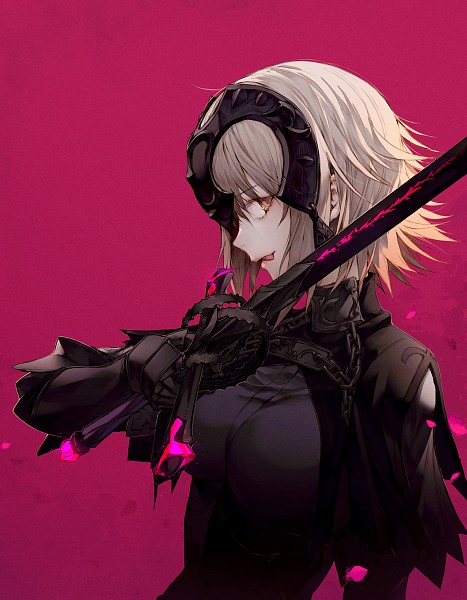 Tags: Anime, Wanke, Fate/Grand Order, Joan Alter, Joan of Arc (Fate/Apocrypha), La Pucelle (Sword), Fanart From Pixiv, Pixiv, Fanart