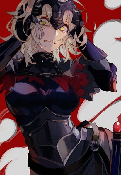 Tags: Anime, Kibadori Rue, Fate/Grand Order, Joan Alter, Joan of Arc (Fate/Apocrypha), Fanart, Fanart From Pixiv, Pixiv