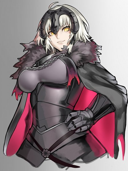 Tags: Anime, Aleron, Fate/Grand Order, Joan Alter, Joan of Arc (Fate/Apocrypha), Fanart From Pixiv, Pixiv, Wallpaper, Fanart