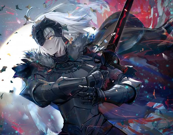 Tags: Anime, 4xin, Fate/Grand Order, Joan of Arc (Fate/Apocrypha), Joan Alter, Fanart From Pixiv, Pixiv, Fanart