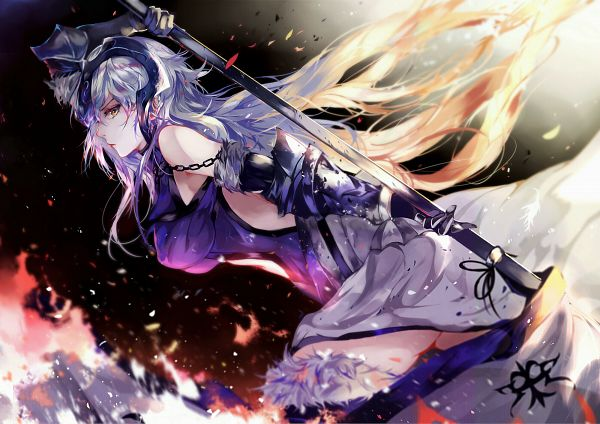 Tags: Anime, Vardan, Fate/Grand Order, Joan of Arc (Fate/Apocrypha), Joan Alter, Fanart, Fanart From Pixiv, Pixiv
