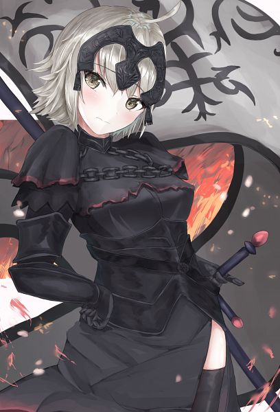 Tags: Anime, Pixiv Id 28646846, Fate/Grand Order, Joan of Arc (Fate/Apocrypha), Joan Alter, Fanart From Pixiv, Pixiv, Fanart