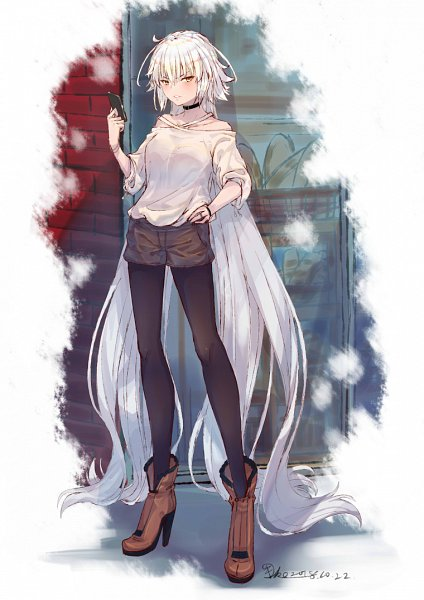 Tags: Anime, Pixiv Id 12120476, Fate/Grand Order, Joan Alter, Joan of Arc (Fate/Apocrypha)