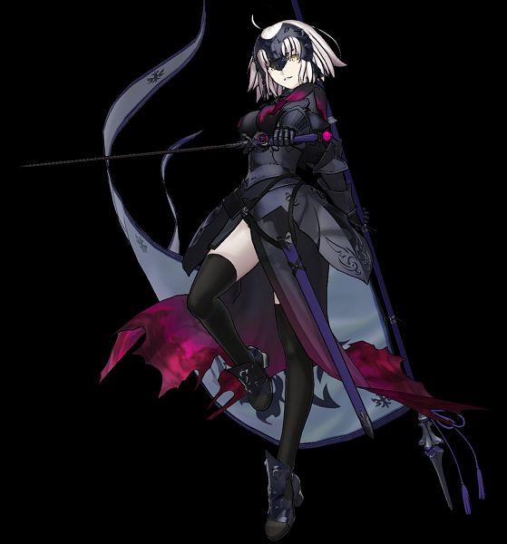 Tags: Anime, Sega, Fate/Grand Order Arcade, Fate/Grand Order, Joan Alter, Joan of Arc (Fate/Apocrypha), Official Art, 3D