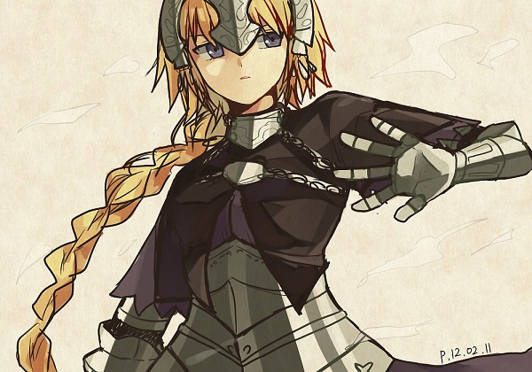 Tags: Anime, Pu, TYPE-MOON, Fate/Apocrypha, Joan of Arc (Fate/Apocrypha)