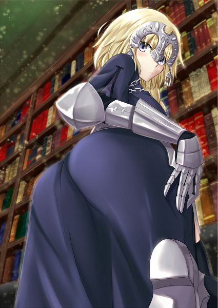 Tags: Anime, Ikinokorubatu, TYPE-MOON, Fate/Apocrypha, Joan of Arc (Fate/Apocrypha), Mobile Wallpaper