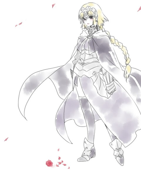 Tags: Anime, Jun (Kyurisin), TYPE-MOON, Fate/Apocrypha, Joan of Arc (Fate/Apocrypha)