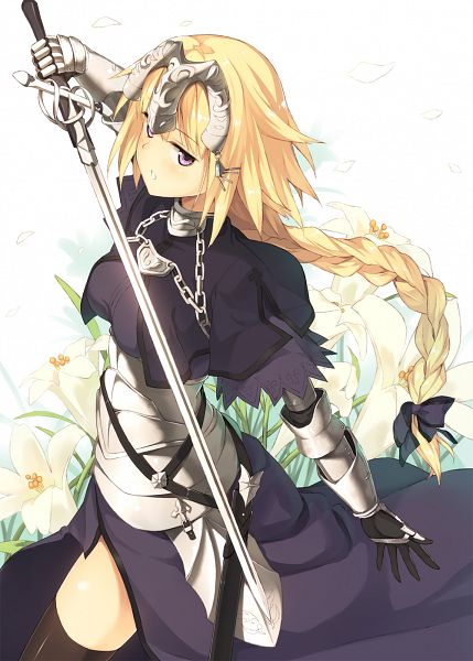 Tags: Anime, Kinta (Distortion), TYPE-MOON, Fate/Apocrypha, Joan of Arc (Fate/Apocrypha), Mobile Wallpaper