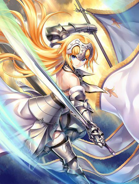 Tags: Anime, Kousaki Rui, Fate/Grand Order, Joan of Arc (Fate/Apocrypha), Mobile Wallpaper
